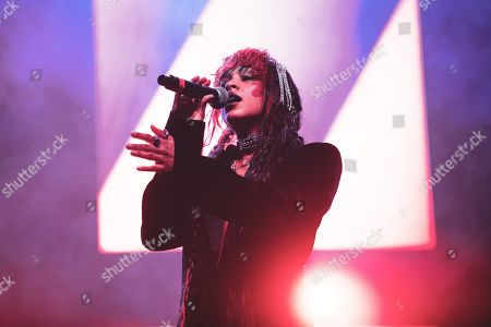 Editorial picture of Kelsey Lu in concert at the Club To Club Festival, Turin, Italy - 03 Nov 2019