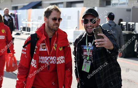 Stock Image of Sebastian Vettel