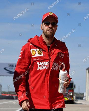 Stock Photo of Sebastian Vettel