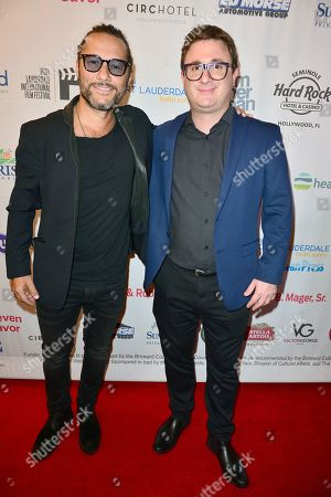 Diego Torres and Martino Zaidelis