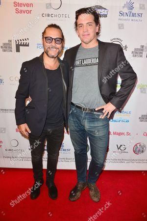 Diego Torres and Producer Sebastian Aloi