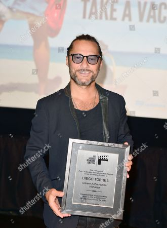 Stock Image of Diego Torres