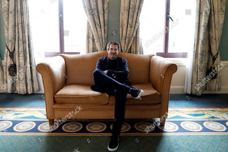 Guillaume Canet poses during an interview with Efe news agency on the occasion of the presentation of his new film 'Pequenas Mentiras para Estar Juntos' (lit. Little lies to stay together), in Madrid, Spaiin, 04 November 2019. The film will be shown in cinemas in Spain from 08 November 2019.