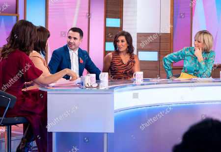 Stock Photo of Andrea McLean, Coleen Nolan, Will Bayley MBE, Saira Khan and Jane Moore