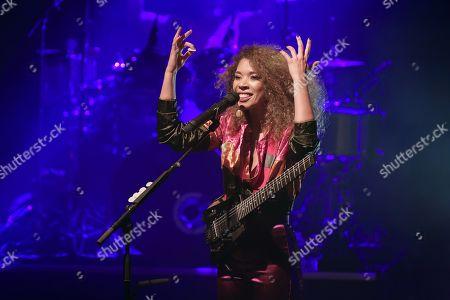 Editorial image of Flavia Coelho in concert, Paris, France - 29 Oct 2019
