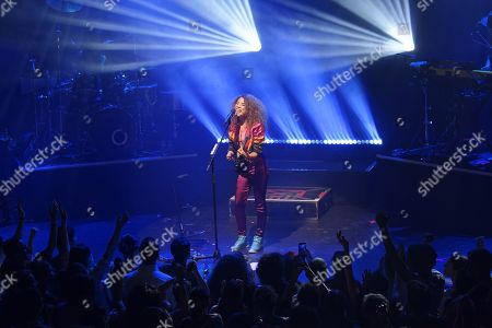 Editorial picture of Flavia Coelho in concert, Paris, France - 29 Oct 2019