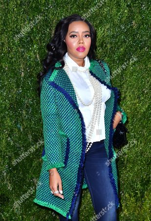 Stock Picture of Angela Simmons