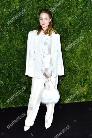 Editorial image of Through Her Lens: The Tribeca Chanel Women's Filmmaker Program Luncheon, Arrivals, New York, USA - 04 Nov 2019