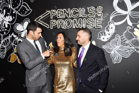 Editorial photo of Pencils of Promise Gala: An Evolution Within, Arrivals, Cipriani Wall Street, New York, USA - 04 Nov 2019