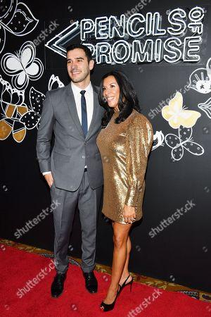 Adam Braun and Tanya Ramos