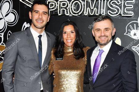 Adam Braun, Tanya Ramos and Gary Vaynerchuck