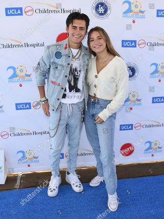 Isaak Presley and Mackenzie Ziegler