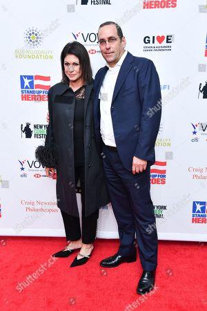 Andrew Fox and Caroline Hirsch