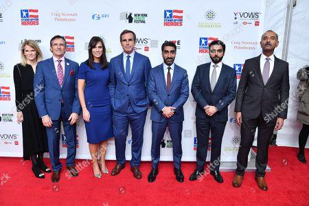 Dave Woodruff, Anne Marie Dougherty, Bob Woodruff, Nasser Allenqawi, Talal Al Hajri, and Mohammed Harib Mattar