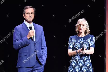 Stock Picture of Bob Woodruff and Lee Woodruff
