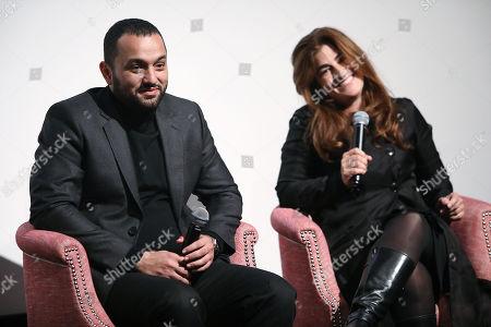 Karim Amer and Jehane Noujaim (Directors)