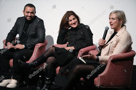 Karim Amer, Jehane Noujaim (Directors) and Carole Cadwalladr