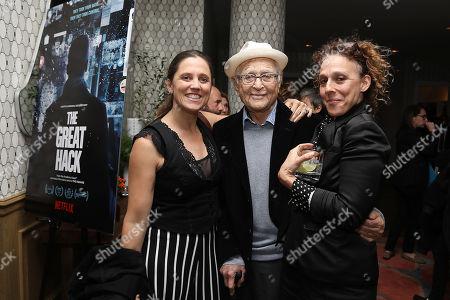 Heidi Ewing, Norman Lear and Rachel Grady