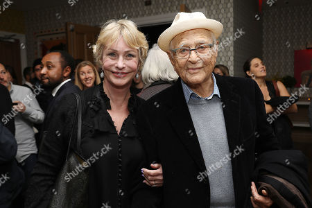 Lyn Lear and Norman Lear