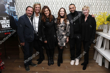 Mike Lerner (Exec. Producer), Geralyn Dreyfous, Jehane Noujaim (Director), Nina Fialkow (Exec. Producer), Karim Amer (Director) and Lyn Lear Lear (Execturive Producer)
