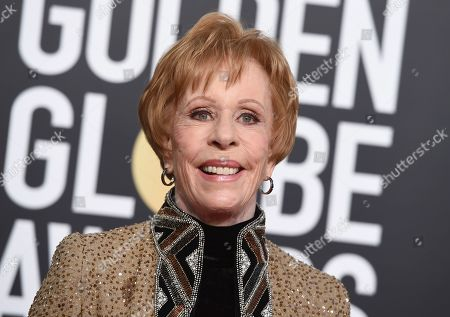"Carol Burnett at the 76th annual Golden Globe Awards in Beverly Hills, Calif. Burnett will be among the familiar faces gracing the ""Mad About You"" revival. Sony Pictures Television announced Monday that Burnett will reprise her Emmy-winning role as the mother of Helen Hunt's character. Hunt and Paul Reiser play the Buchmans, a New York married couple, in the NBC series that aired 164 episodes before its finale in May 1999. The revival will focus on the Buchmans and their marriage after their daughter leaves for college"