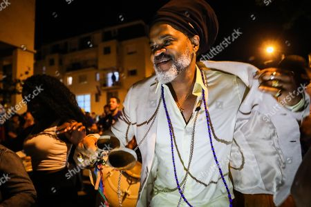 Carlinhos Brown during his visit to Montevideo, Uruguay, on 03 November 2019 (issued 04 November 2019).