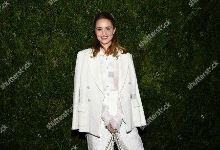 Dianna Agron attends Through Her Lens: Tribeca Chanel Women's Filmmaker Program Luncheon at Locanda Verde, in New York