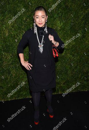 Ane Crabtree attends Through Her Lens: Tribeca Chanel Women's Filmmaker Program Luncheon at Locanda Verde, in New York