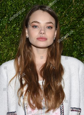 Kristine Froseth attends Through Her Lens: Tribeca Chanel Women's Filmmaker Program Luncheon at Locanda Verde, in New York