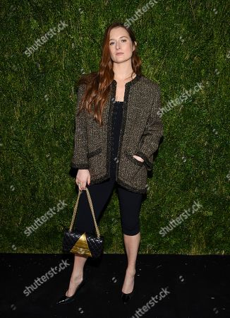 Grace Gummer attends Through Her Lens: Tribeca Chanel Women's Filmmaker Program Luncheon at Locanda Verde, in New York