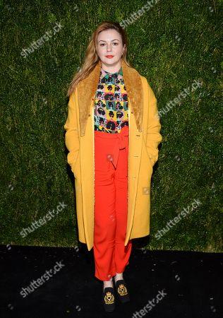 Amber Tamblyn attends the Through Her Lens: Tribeca Chanel Women's Filmmaker Program Luncheon at Locanda Verde, in New York