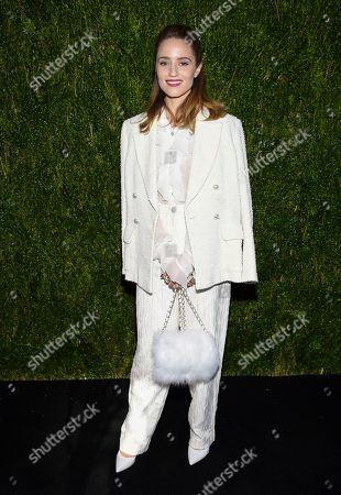 Dianna Agron attends the Through Her Lens: Tribeca Chanel Women's Filmmaker Program Luncheon at Locanda Verde, in New York