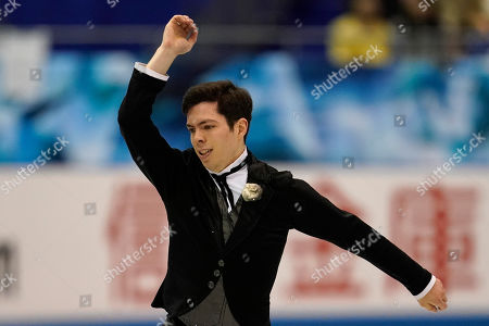 Canada's Keegan Messing performs his men's free skating routine during the ISU World Team Trophy Figure Skating competition in Fukuoka, southwestern Japan. Messing has always skated with passion and showmanship. Whether he is channeling Charlie Chaplin, Gene Kelly or the Incredible Hulk, he is a storyteller capable of charming audiences from Fur Rendezvous to the Olympics. He is 27-years-old and has been skating since he was 3