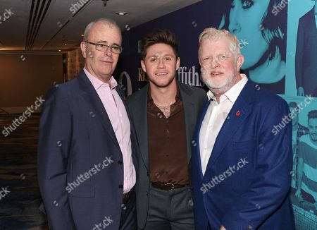 Richard Griffiths, Niall Horan and Harry Magee