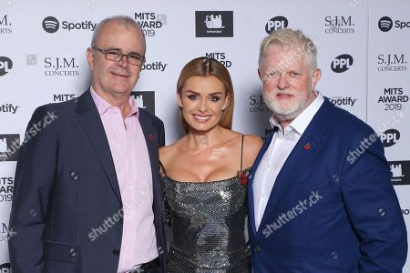 Richard Griffiths, Katherine Jenkins and Harry Magee