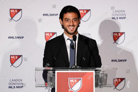 Editorial image of MLS MVP Soccer, Los Angeles, USA - 04 Nov 2019