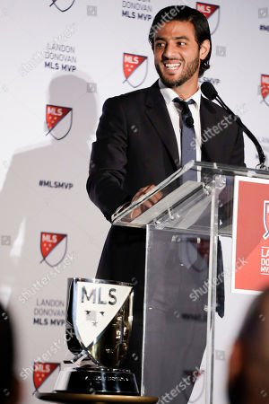 Editorial picture of MLS MVP Soccer, Los Angeles, USA - 04 Nov 2019