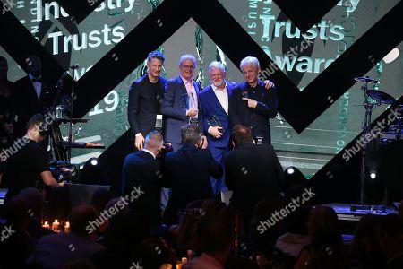 Editorial image of Music Industry Trusts Award, Inside, London, UK - 04 Nov 2019