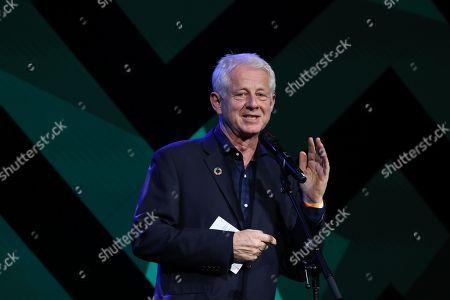 Award presenter Richard Curtis during the MITS Award