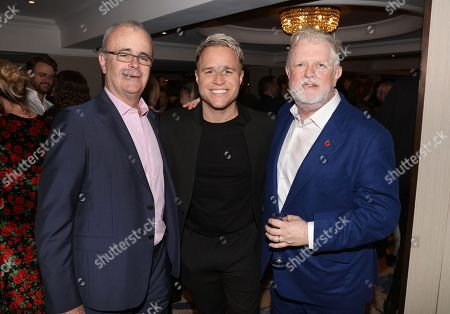 Richard Griffiths, Olly Murs and Harry Magee