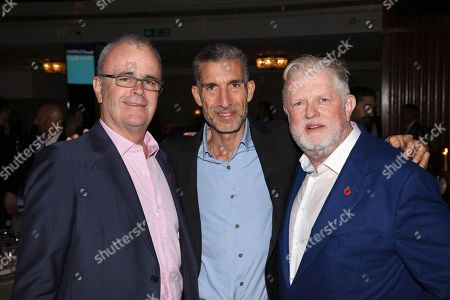Richard Griffiths, David Joseph and Harry Magee