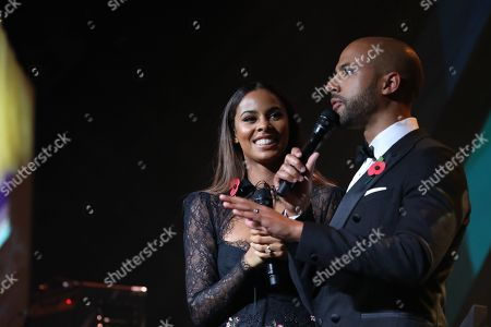 Hosts Rochelle Humes and Marvin Humes