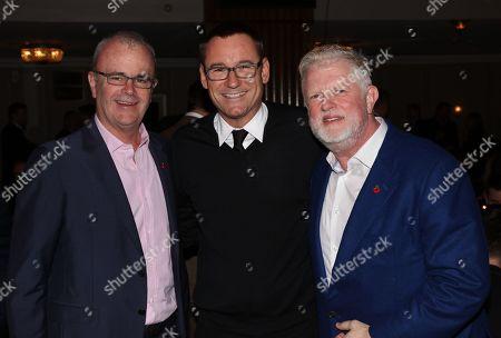 Richard Griffiths, Jason Iley and Harry Magee