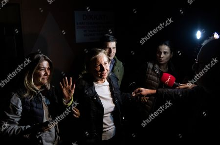 Editorial photo of Journalists released from prison in Turkey, Istanbul - 04 Nov 2019