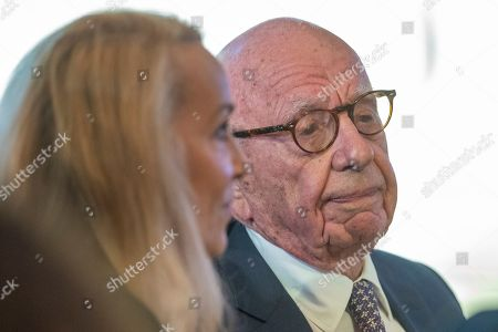 Rupert Murdoch, Jerry Hall. Rupert Murdoch and Jerry Hall attend the Herman Kahn Award Gala, in New York. Secretary of State Mike Pompeo received the Hudson Institute's 2019 Herman Kahn Award