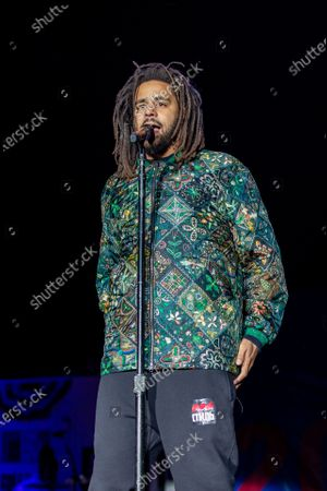 Stock Picture of J. Cole