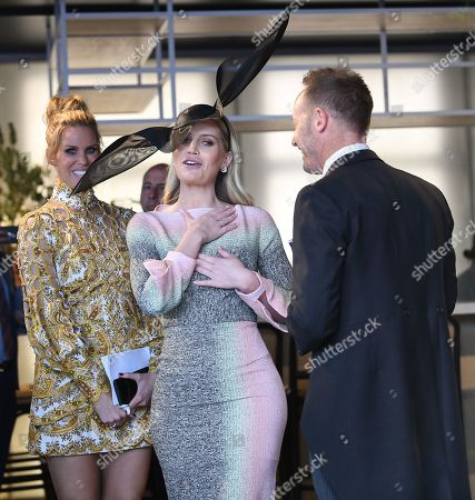 Lady Kitty Spencer (C) at the Birdcage on Melbourne Cup Day at Flemington Racecourse in Melbourne, Australia, 05 November 2019.