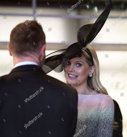Lady Kitty Spencer (R) at the Birdcage on Melbourne Cup Day at Flemington Racecourse in Melbourne, Australia, 05 November 2019.