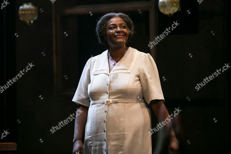 Sharon D Clarke (Linda Loman) during the curtain call