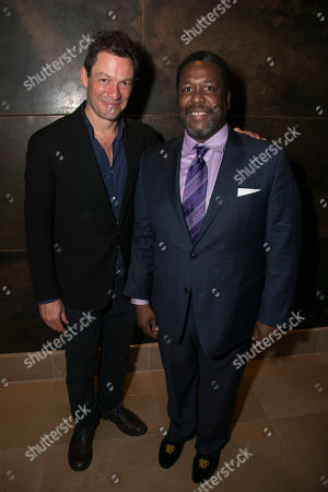 Dominic West and Wendell Pierce (Willy Loman)